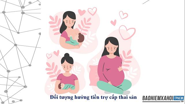 Đối tượng hưởng tiền trợ cấp thai sản